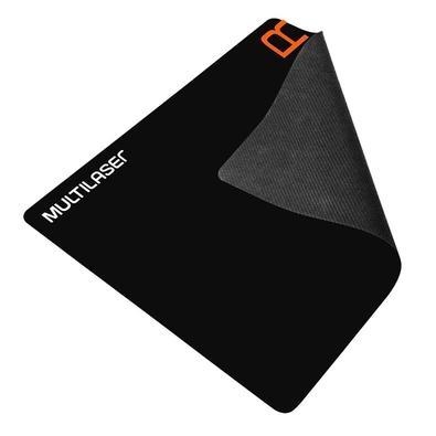 Kit Gamer Multilaser - Mouse + Mousepad Speed, Pequeno, Laranja - MO274