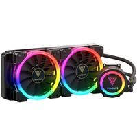 Water Cooler Gamdias RGB com 2 Unidades, 140mm - CHIONE M1A-280R