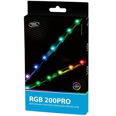 Fita de LED DeepCool RGB 200 PRO, 40cm - DP-LED-RGB200PRO