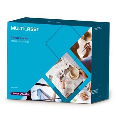 Toner Multilaser para Samsung, Preto - CT009