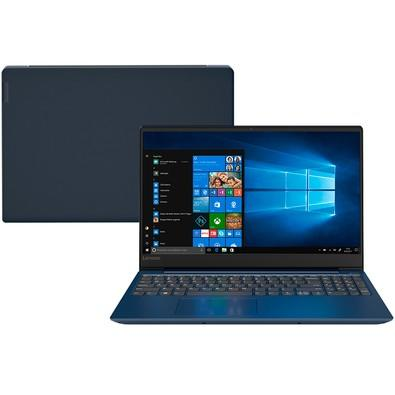Notebook Lenovo IdeaPad 330S, AMD Ryzen7-2700U, 8GB, 1TB, AMD Radeon 540 2GB, Windows 10 Home, 15.6´, Azul - 81JQ0002BR