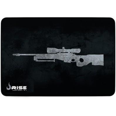 Mousepad Gamer Rise Mode Sniper, Speed, Grande (420x290mm), Cinza - RG-MP-05-SPG