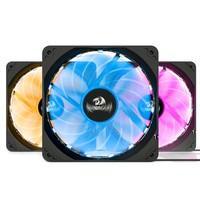 Kit Cooler Fan Redragon com 3 Unidades, RGB, 12cm - GC-F006