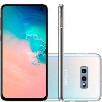 Smartphone Samsung Galaxy S10e, 128GB, 16MP, Tela 5.8´, Branco - SM-G970F/1DL