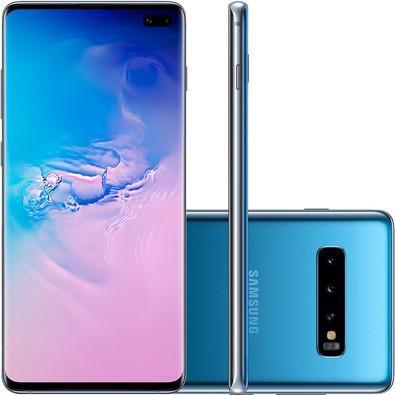 Smartphone Samsung Galaxy S10 , 128GB, 16MP, Tela 6.4´, Azul - SM-G975F/1DL