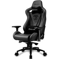 Cadeira Gamer Sharkoon Shark Skiller SGS5 Couro Black