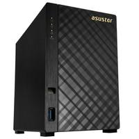 Storage Asustor V2 Marvell NAS 512MB, HD 8TB, 2 Baias - AS1002T8000