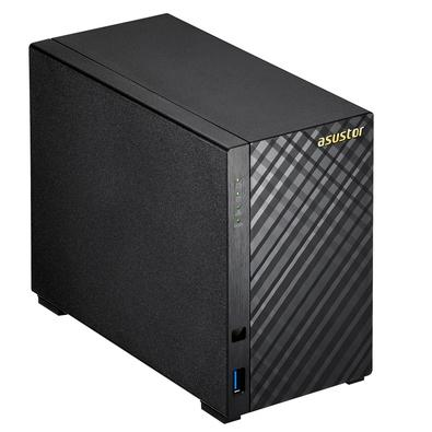 Storage Asustor V2 Marvell NAS 512MB, HD 8TB, 2 Baias - AS1002T8000