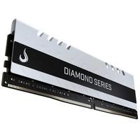 Memória Rise Mode Diamond, 4GB, 2400MHz, DDR4, CL15, Branco - RM-D4-4GB-2400DW