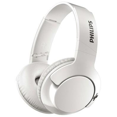 Headset Bluetooth Philips Bass+ Branco - SHB3175WT/00