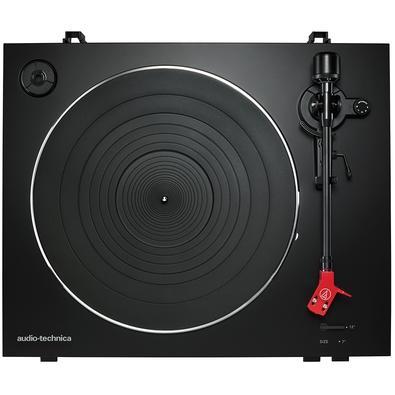 Toca Discos Audio-Technica Automático, Acionamento por Correia, 110V, Preto - AT-LP3BK