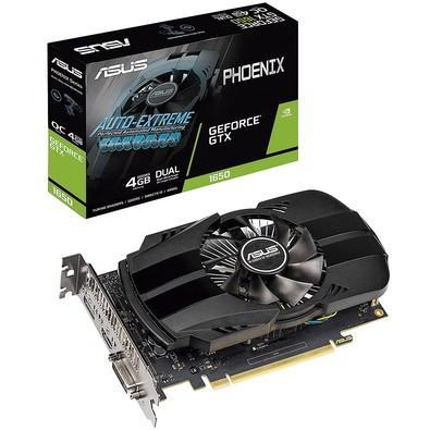 Placa de Vídeo Asus Phoenix NVIDIA GeForce GTX 1650 4GB, GDDR5 - PH-GTX1650-4G