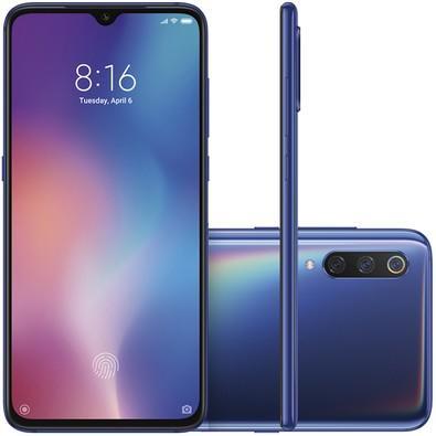 Smartphone Xiaomi Mi 9, 128GB, 48MP, Tela 6.39´, Azul - CX268AZU