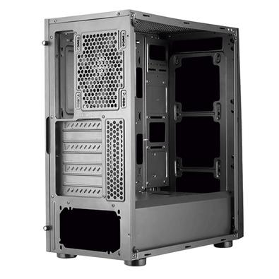 Gabinete Gamer Cougar MX340, Mid Tower, 1 FAN, Lateral em Vidro - 385WMW0.0001