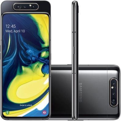 Smartphone Samsung Galaxy A80, 128GB, 48MP, Tela 6.7´, Preto - SM-A805F/1DL