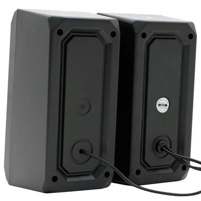Caixa de Som Gamer Husky Gaming Storm, Rainbow, 6W, USB - CX-HST-RA