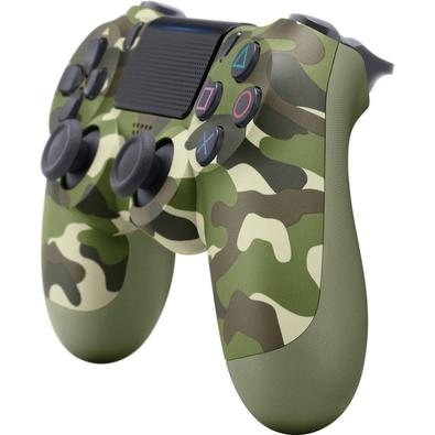 Controle Sony Dualshock 4 PS4, Sem Fio, Camuflado - CUH-ZCT2U