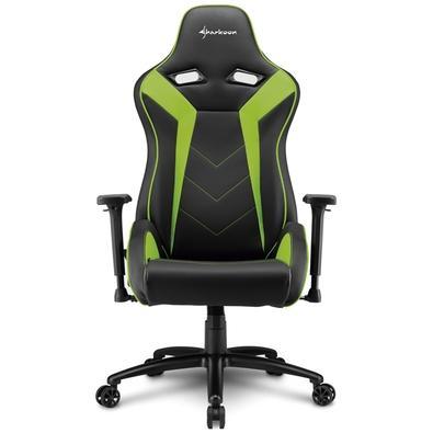 Cadeira Gamer Sharkoon Elbrus 3, Black Green