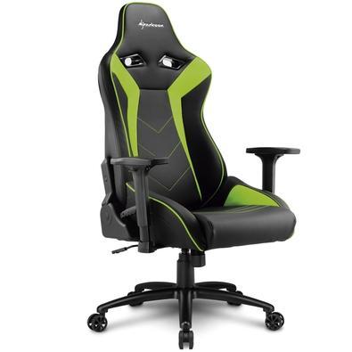 Cadeira Gamer Sharkoon Shark Elbrus 3, Black Green