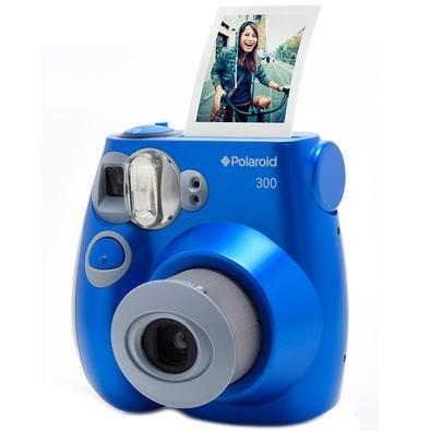 Câmera Instantânea Polaroid, Azul - POLPIC 300