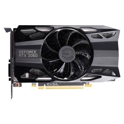Placa de Vídeo EVGA NVIDIA GeForce RTX 2060 Gaming, 6GB GDDR6 - 06G-P4-2060-KR