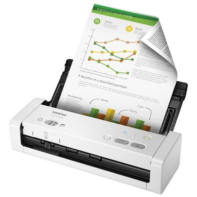 Scanner Portátil Brother USB, Wi-Fi - ADS-1250W
