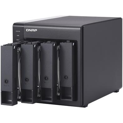 Storage QNAP DAS, Sem Disco, 4 Baias - TR-004-US