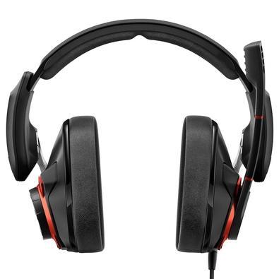 Headset Gamer Sennheiser GSP 600, P2, Preto e Vermelho - 507263