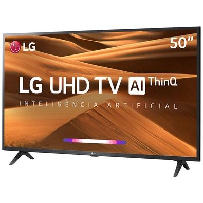 Smart TV LED 50´ UHD 4K LG, 3 HDMI, 2 USB, Bluetooth, HDR Ativo, ThinQ AI - 50UM7360