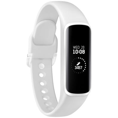 Fitnessband Samsung Galaxy Fit E, Bluetooth, Touchscreen, Branco - SM-R375NZWAZTO