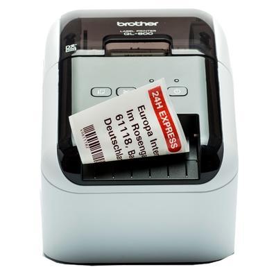 Impressora de Etiquetas Brother QL800, Até 300x600 DPI, USB