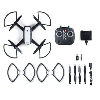 Drone Multilaser Hawk, Câmera HD, FPV, Alcance Máx 150m, Autonomia até 10min, Preto - ES257