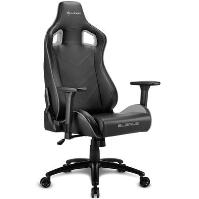Cadeira Gamer Sharkoon Elbrus 2, Black Gray