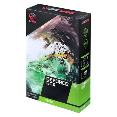 Placa de Vídeo PCYes NVIDIA GeForce GTX 1650, 4GB, GDDR5 - PA165012804G5
