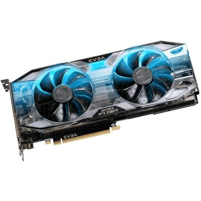 Placa de Vídeo EVGA NVIDIA GeForce RTX 2080 Ti, 11GB, GDDR6 - 11G-P4-2282-KR
