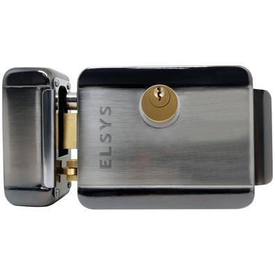 Fechadura Elétrica Elsys ESF-E5000, Sobrepor, Reversível, Dupla Segurança - 998901115320