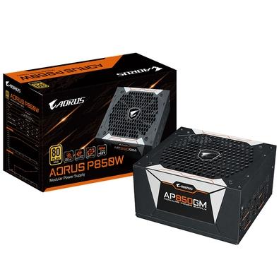 Fonte Aorus 850W, 80 Plus Gold, Modular - GP-AP850GM