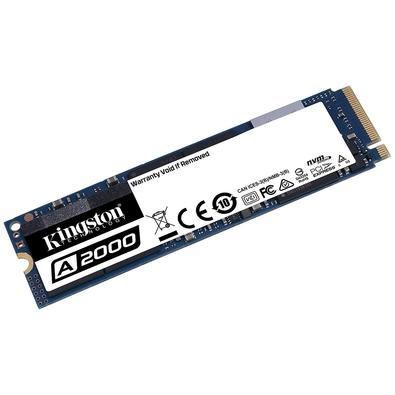 SSD Kingston A2000, 1TB, M.2 NVMe, Leitura 2200MB/s, Gravação 2000MB/s - SA2000M8/1000G