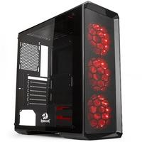 Gabinete Gamer Redragon Grimlock, Mid Tower, RGB, Laterais em Vidro - GC602