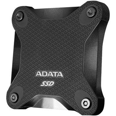 SSD Externo Adata SD600Q, 480GB, SATA, Leitura 440MB/s, Gravação 440MB/s - ASD600Q-480GU31-CBK