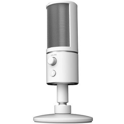 Microfone Razer Seiren X, USB, Mercury White - RZ19-02290400-R3M1