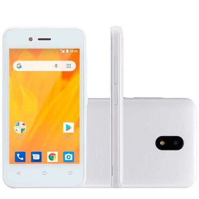 Smartphone Multilaser MS40G, 8GB, 5MP , Tela 4´, Branco - P9071