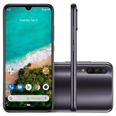 Smartphone Xiaomi Mi A3, 64GB, 48MP, Tela 6.088´, Cinza + Capa - CX280CIN