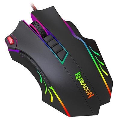 Mouse Gamer Redragon Titanoboa 2, RGB, 10 Botões, 24000DPI - M802-RGB