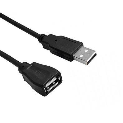 Cabo Extensor USB MD9 AM/AF 2.0, 1.50m, Niquelado, Preto - 7874