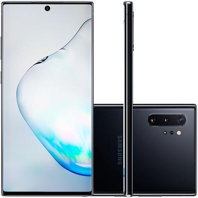 Smartphone Samsung Galaxy Note10+, 256GB, 16MP, Tela 6.8´, Preto + Caneta - SM-N975FZKJZTO