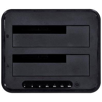 Duplicador de HD Docking Station Vinik, 2 Baias, 2.5´/3.5´, USB 3.0, Preto - DP35-A30B