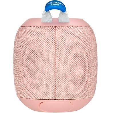Caixa de Som Bluetooth Ultimate Ears WONDERBOOM 2 Portátil e À Prova D´Água - Até 13 horas de Bateria - Rosa - 984-001558