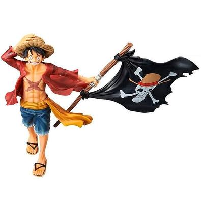 Action Figure One Piece, Monkey D. Luffy Magazine - 27922/27923