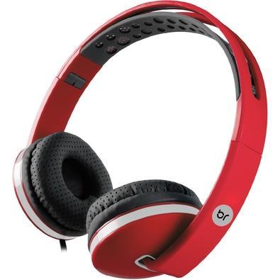 Headphone Bright Colors, P2, Vermelho - 0471
